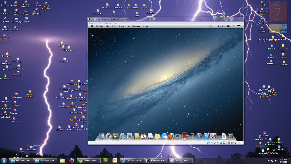 Shane Zentz Hackintosh Desktop
