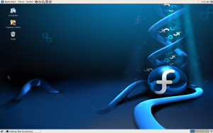 Fedora Core Linux OS